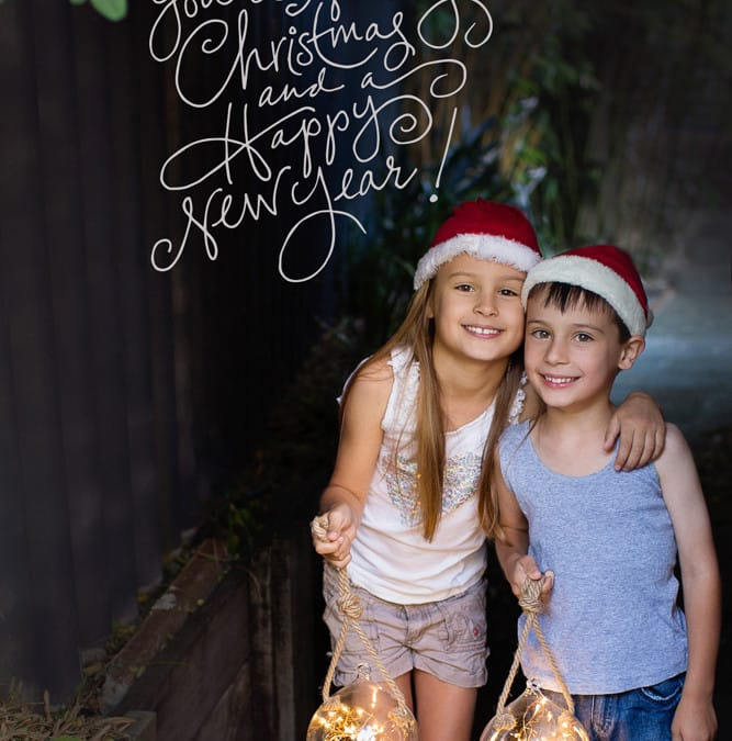 The easy guide to gorgeous christmas card portraits