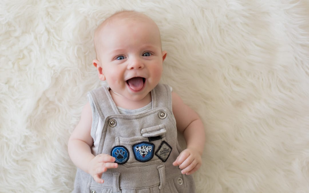 Behind the Scenes | The best photo of your baby is also the easiest!