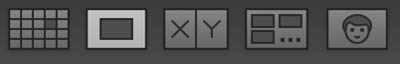 Lightroom Image display buttons